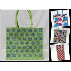 Multipurpose Combo Bags - Shopping Bag, Fancy Bag, Lunch Bag & Water Bottle Bag (Set of 4) - CB001
