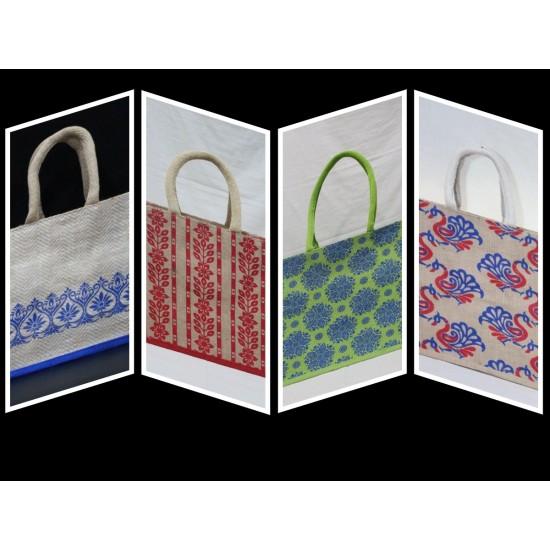 Multipurpose Combo Bags - Shopping Bag, Lunch Bag, Utility Bag & Gift Bag (Set of 4) - CB005