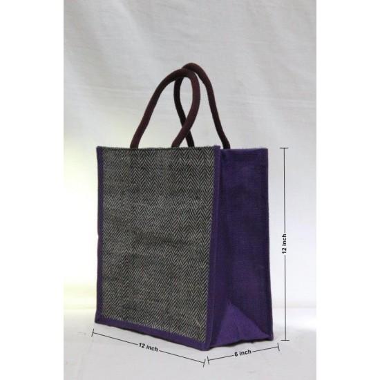 Multipurpose Combo Bags - Shopping Bag, Lunch Bag, Fancy Bag & Water Bottle Bag (Set of 4) - CB006