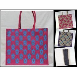 Multipurpose Combo Bags - Shopping Bag, Fancy Bag, Lunch Bag & Water Bottle Bag (Set of 4) - CB008