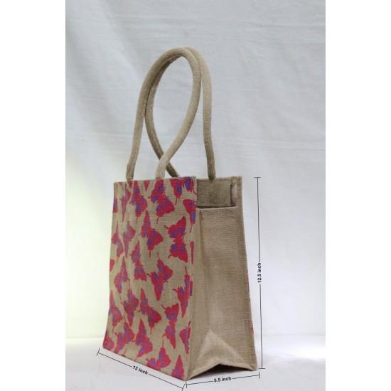 Multipurpose Combo Bags - Shopping Bag, Fancy Bag, Lunch Bag & Water Bottle Bag (Set of 4) - CB008