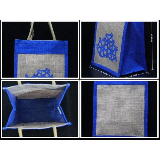 Gift Bags Combo - Small Gift Bags, Tambulam Bags, Wedding Bags for Auspicious Occasions / Navarathri (Set of 5) - CB013