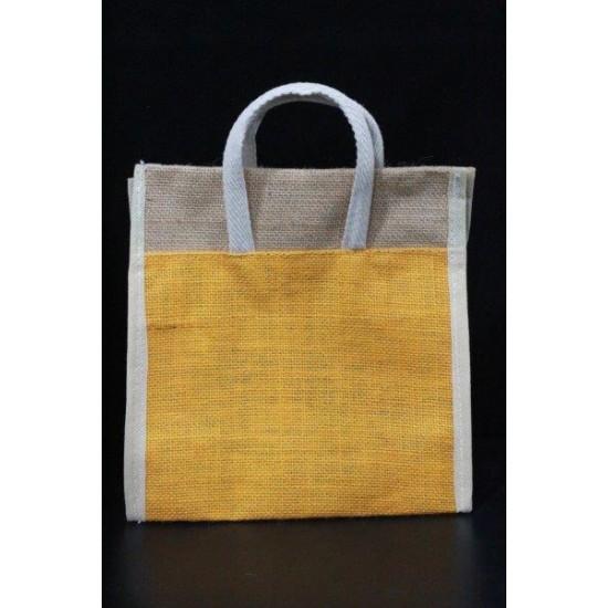 Small Gift Bags / Tambulam Bags for Auspicious Occasions / Navarathri - Random Colour Adjustable Velcro Bag (9.5 X 5 X 10 inches)